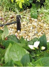 Hozelock 0 - 40 lph Adjustable Mini Sprinkler On Stake - (Contains 5)